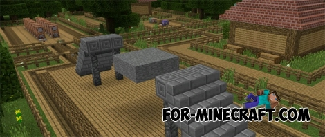 Command block mechanisms (Minecraft PE 1.0.5)