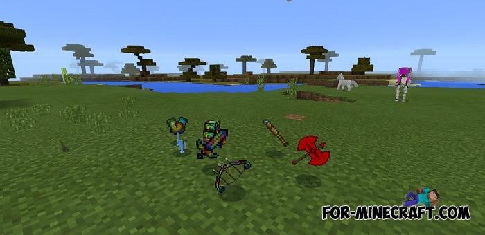Lucky Block Spiral mod (Minecraft PE 1 2)