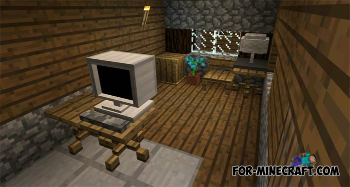 Danxupe Furniture Mod Minecraft Pe 1 2