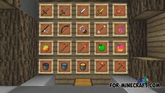 Red & Yellow PvP Texture Pack (MCPE 1 1 0 8)