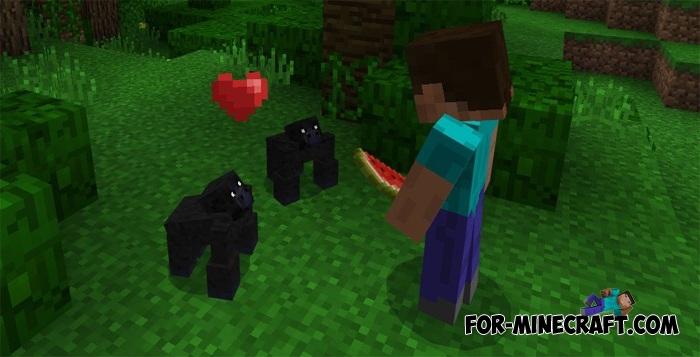 zoo & wild animals mod para minecraft