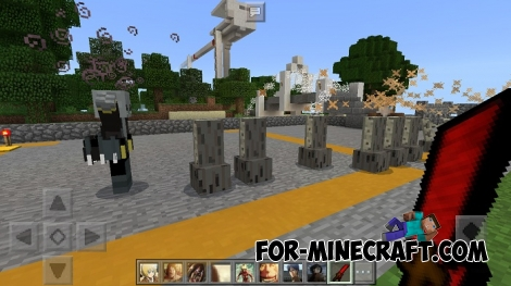 Attack on Titan addon (MCPE 1.1)
