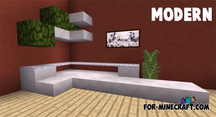 minecraft living room furniture sofa ideas in furniture minecraft pe 1 1 14414
