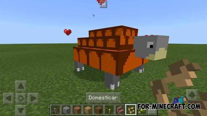 Turtles Pets addon (Minecraft PE)