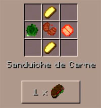 Ultimate Foods mod for MCPE 1.1+