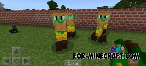 Madness Creatures addon (MCPE 1.1)