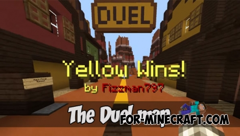 The Duel map for MCPE 1.1