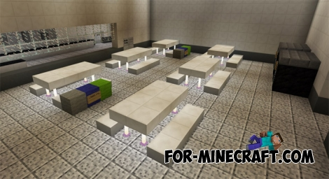 Prison Break map (Minecraft PE 1.1.1)
