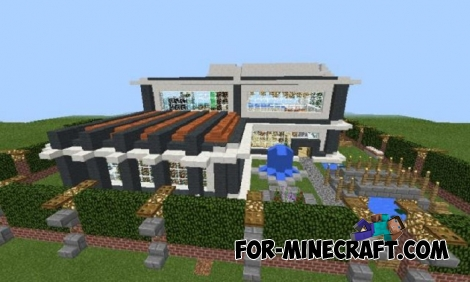 Instant House mod (MCPE 1.1)