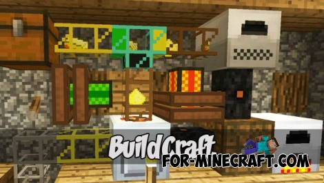 BuildCraft Alpha 1.1 (MCPE 1.0)