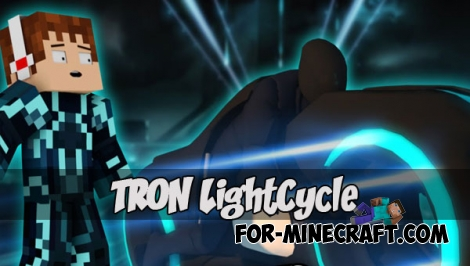 Tron LightCycle for MCPE 1.1.1