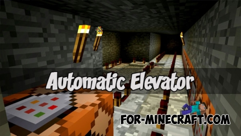 Automatic Elevator for Minecraft PE 1.1