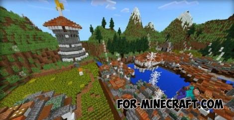 Floating Island for Minecraft PE 1.1