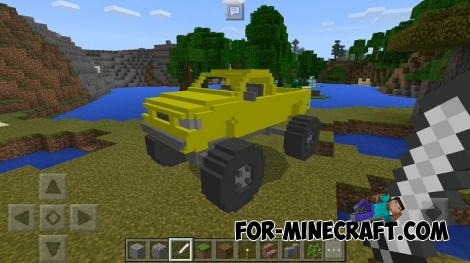 Monster Truck for Minecraft PE 1.1.3