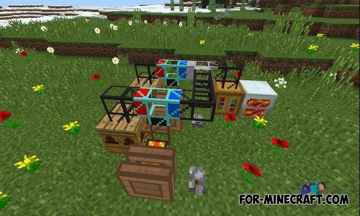 Forestry PE mod v5 5 (Minecraft PE) (IC)