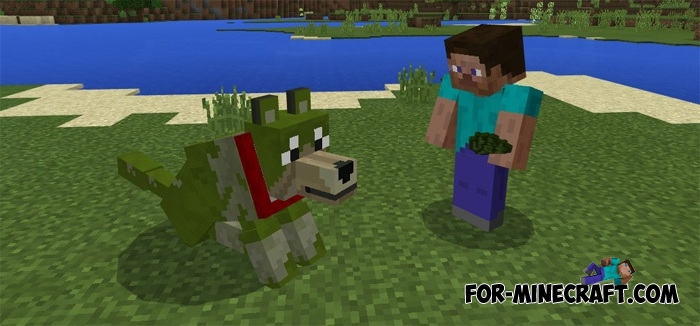 Colorful Wolves More Wolves Minecraft Pe 1 2