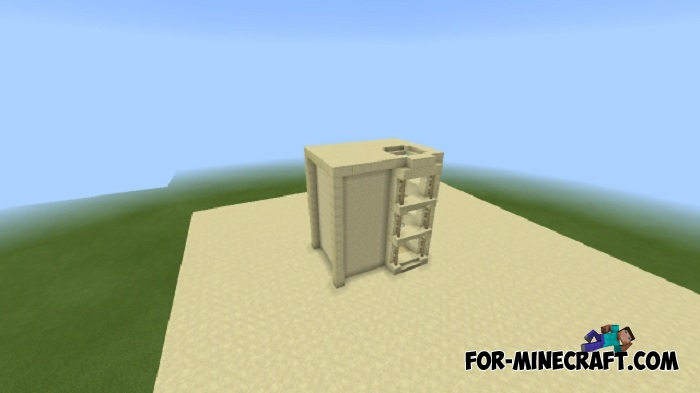 Command Block Elevator for Minecraft PE 1 1+