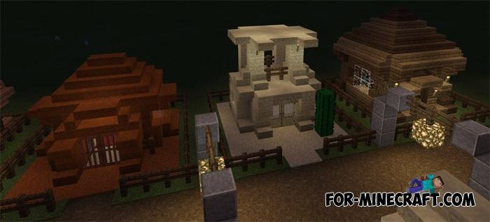 Small Houses Ideas Minecraft Pe 1 1