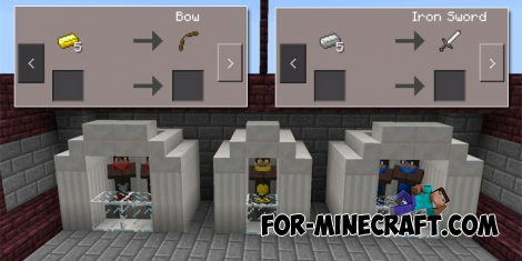 Egg wars map (Minecraft PE 1.1)