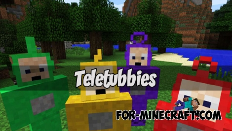 Teletubbies addon (Minecraft PE)