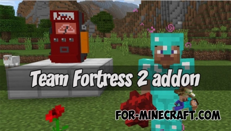 Team Fortress 2 addon v2 (MCPE 1.6+)