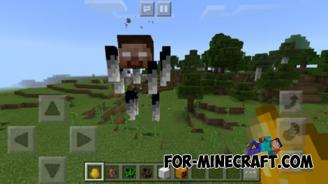 Bigger Bosses addon (Minecraft PE 1.1.3+)