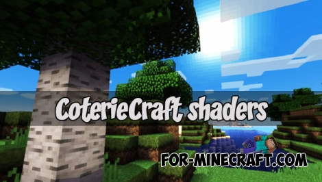 CoterieCraft shaders (Minecraft PE 1.1)