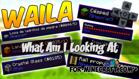 WAILA mod for Minecraft PE 1.1