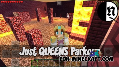 QMS PARKOUR (Minecraft PE 1.1.4)