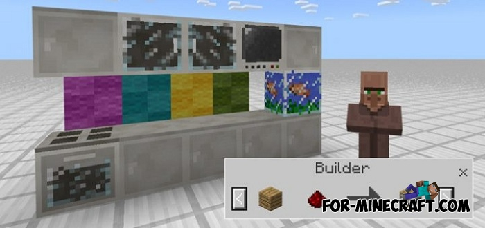 Modern Decorations addon (Minecraft PE 1 2)