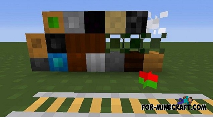 4x4 texture pack for Minecraft PE 1 2