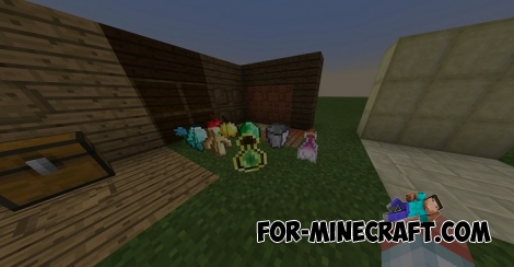 New Things for Minecraft PE 1.2