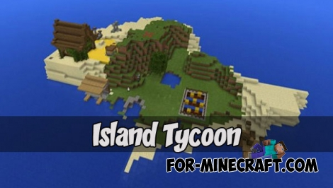 Island Tycoon map for MCPE 1.2