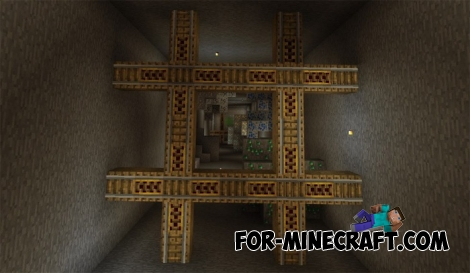 The X Dropper map (MCPE 1.2)