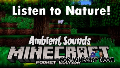 Ambient Sounds for Minecraft PE