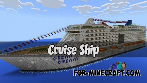 Cruise Ship map (MCPE 1.2)