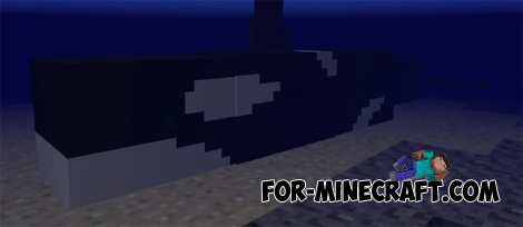 Whale addon for Minecraft PE 1.2
