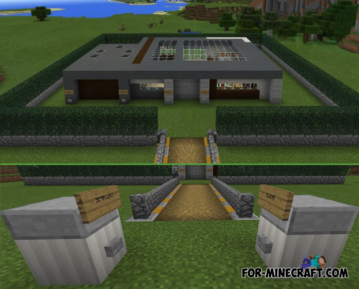 Self-Building House for Minecraft PE 1 1+