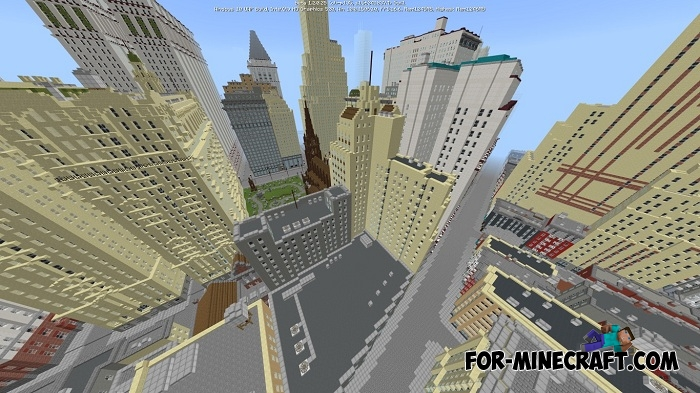 New York City 1936 Map For Minecraft Pe 1 1 1 2