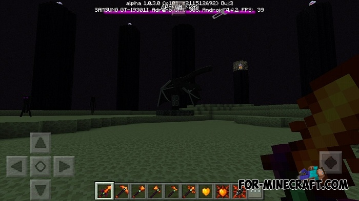 Draconic Evolution PE mod v1 7 Release for Minecraft PE