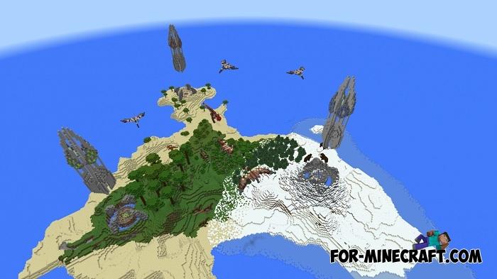 Ark Survival Island (MCPE 1.2+)