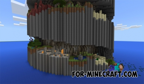 Parkour Spiral map (MCPE 1.2)