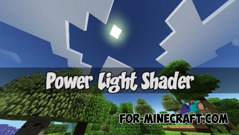 Power Light Shader for MCPE 1.1/1.2+
