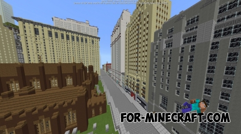 New York City 1936 map for Minecraft PE 1.1/1.2