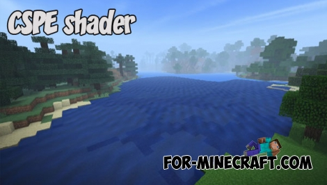 CSPE shader v2.0 for Minecraft PE 1.2