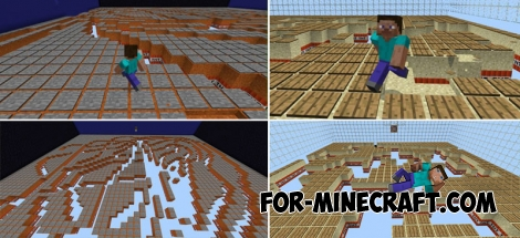 TNT Run map pack for Minecraft PE