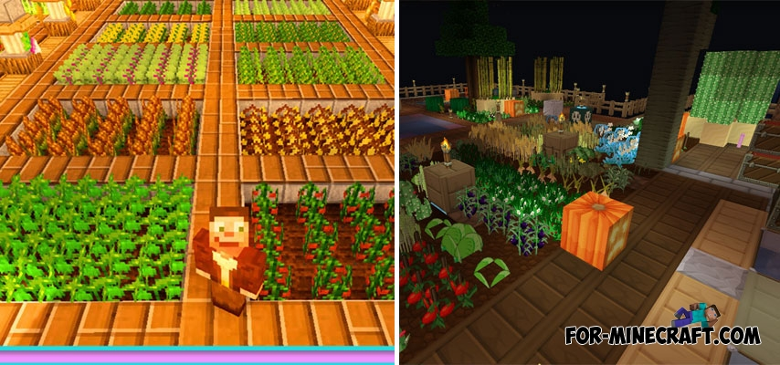 Pam's Harvest Craft PE Mod for Minecraft PE (v2 4 4)
