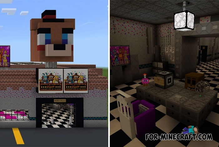 From FNAF 2 to Minecraft PE 1 2 5