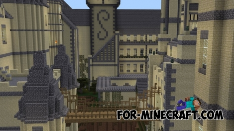 Hogwarts School (Best Replica) for Minecraft PE