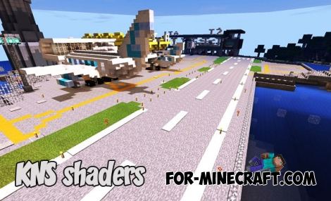 KNS shaders for Minecraft PE 1.2 (Android/iOS)